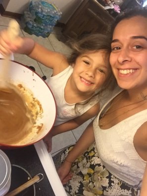 Baking with my Caramia