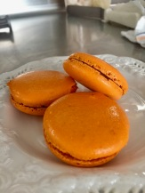 Grand Marnier macarons